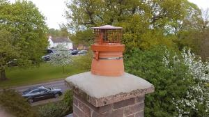 Birdguard and chimney pots